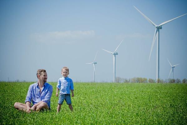 Windmolens_familie
