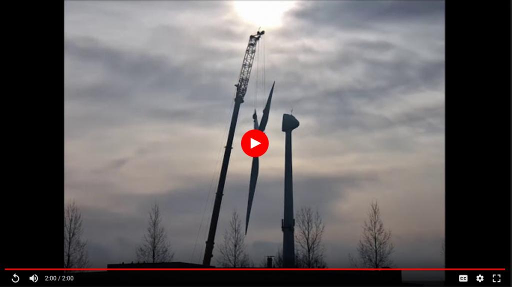 Timelapse video van opbouw Gouwevogel